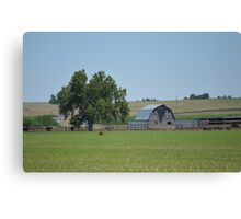 Barn N Tree Canvas Print