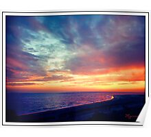 Sunset at Lido Key Poster