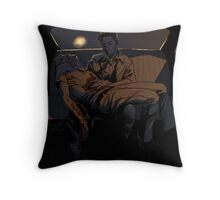 Backseat Pietà Throw Pillow