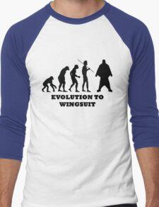 Evolution to Wingsuit Men's Baseball ¾ T-Shirt