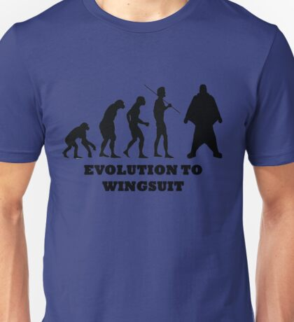 Evolution to Wingsuit Unisex T-Shirt