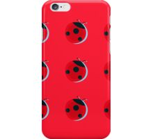 Lady Bug Pattern iPhone Case/Skin