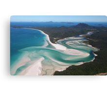 Whitehaven Beach Canvas Print