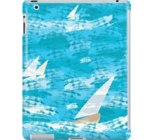 Sail in the Sea iPad Case/Skin