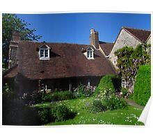 Priory Cottage, Much Wenlock Poster