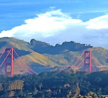 Golden Gate Bridge  by David Denny