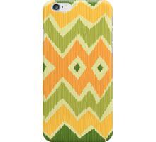 Diamond & Zigzag Ikat Pattern iPhone Case/Skin