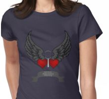 Saving. Searching. Solving. Womens Fitted T-Shirt
