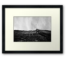 continental edge Framed Print