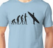 Evolution to Surfer Unisex T-Shirt