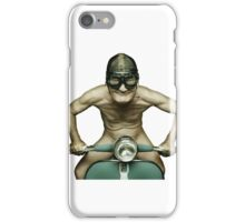 Scooter Man iPhone 2 iPhone Case/Skin
