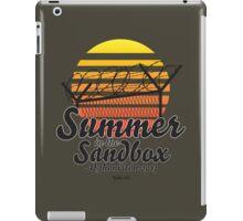 Summer in the Sandbox iPad Case/Skin
