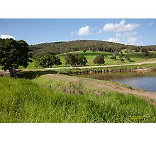 Rural Scene near Paterson, NSW Australia Photographic Print