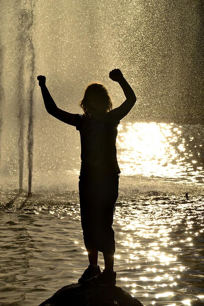 Silhouette Girl by Deborah Clearwater