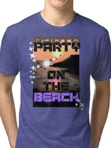 Beach View  Tri-blend T-Shirt