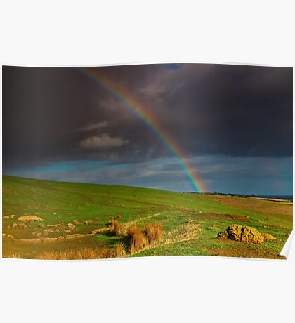 """""""The Rainbow And The Rock"""" Poster"""