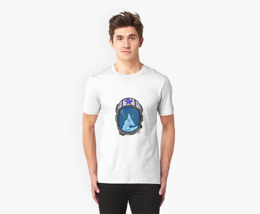 Space Cat Hero by Trav Nash