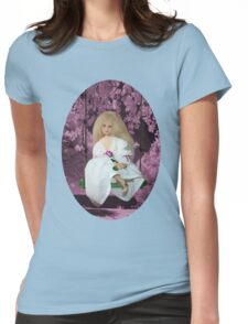 (✿◠‿◠)SWINGING WITH THOUGHTS OF YOU TEE SHIRT(✿◠‿◠) Womens Fitted T-Shirt