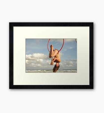 Lynda Sanderson Beach Camp Photo Comp #2 Framed Print