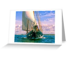 Coming Up Fast Greeting Card