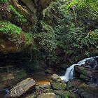 Leura Cascades by kcy011