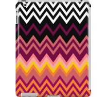 Colorful Zig Zag Retro iPad Case/Skin