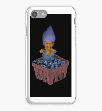 ❀◕‿◕❀TROLL LOVING BLUEBERRIES IPHONE CASE❀◕‿◕❀ iPhone Case/Skin