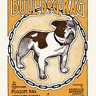 Bulldog Ragtime Vintage Sheet Music by LABELSTONE