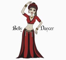 American Tribal Style Bellydancer by ArtformDesigns