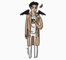 Crazy!Cas by captainshroom