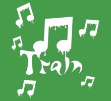 Train - Melting Music Notes - White Version by ILoveTrain