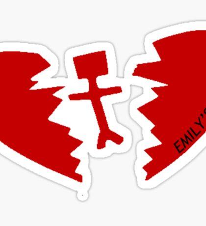 Emily's Army - Red Sticker