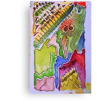 Elucidate My Ideas. Canvas Print
