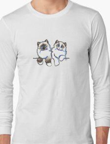 Pair of Dolls   Ragdoll Cats Long Sleeve T-Shirt