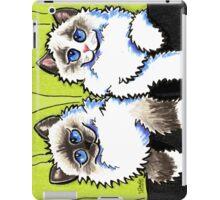 Pair of Dolls   Ragdoll Cats iPad Case/Skin