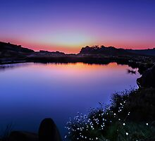 Twilight at Doxey Pool by mhfore