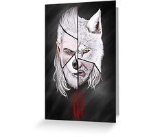 Geralt de Rivia Greeting Card