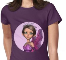 Pink Fairy Womens Fitted T-Shirt