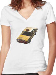 Traffic Women's Fitted V-Neck T-Shirt