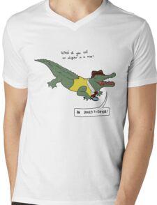 Investigator Mens V-Neck T-Shirt