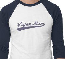 Vegan Mom Men's Baseball ¾ T-Shirt