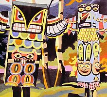 Totem People by Bill Blair