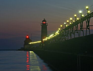 Grand Haven Pier by Jack Ryan