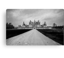 Chambord Chateau Canvas Print