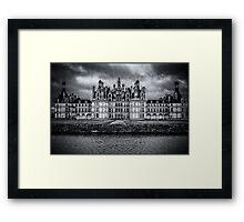 Chambord Chateau Framed Print