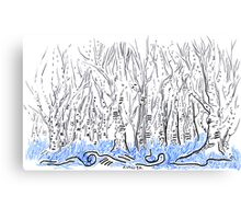 The forest for the Trees, an ACEO Canvas Print