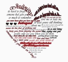 Lyric heart by maddiesanderson