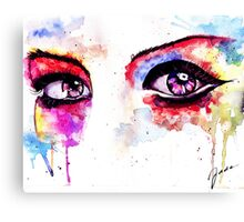 Watercolor Eyes II Canvas Print
