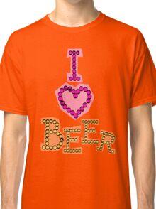 I love beer Classic T-Shirt