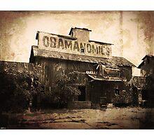 Obamanomics Photographic Print
